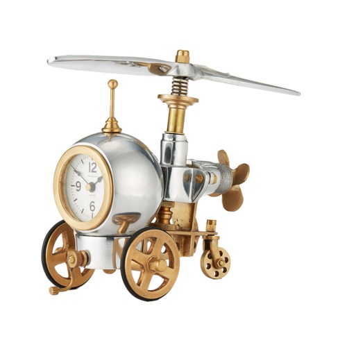 Igor Table Clock Aluminum