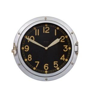 Airship Wall Clock Aluminum