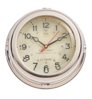 Deckhand Wall Clock Aluminum
