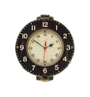 Marine Wall Clock Grey