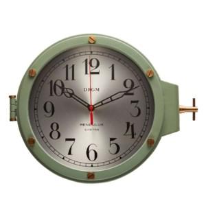 U-Boat Wall Clock Gray