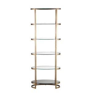 Ellipse Etagere Ant Gold