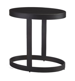 Ellipse Accent Table Graphite