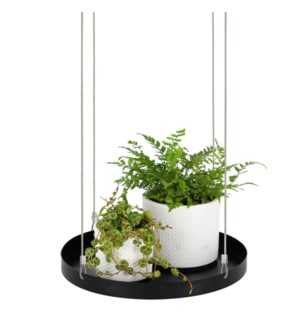 Plant tray hanging round L ass.