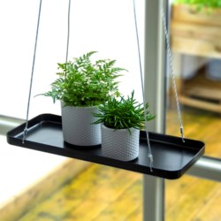 Plant tray hanging rect. S ass.