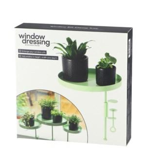 Windowsill clamp green L