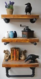 Industrial Shelf w Tubing Set/319.7Wx8.7D