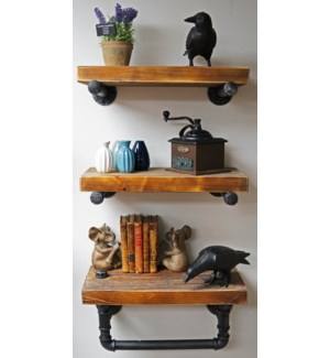 Industrial Shelf w Tubing Set/319.7Wx8.7D