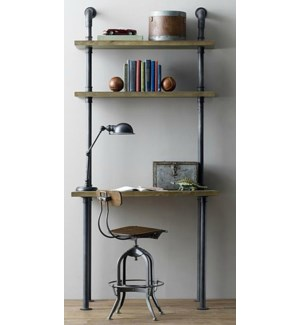 Industrial Desk/shelf Narrow