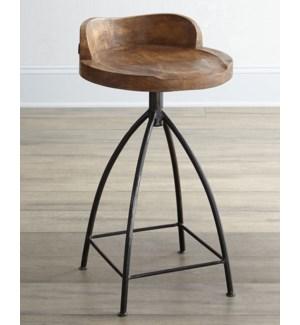 Pine wood seat