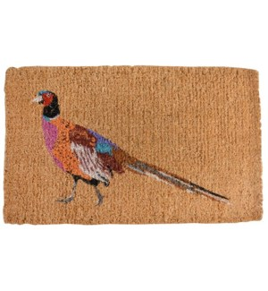 Coir doormat pheasant
