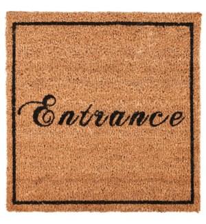 Doormat coir square entrance