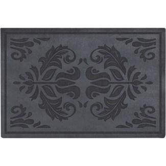 Doormat relief classical -  23.6x15.7x0.1in.