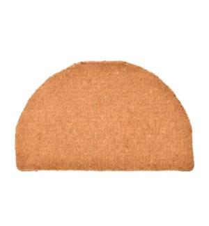 Doormat coir extra thick half round