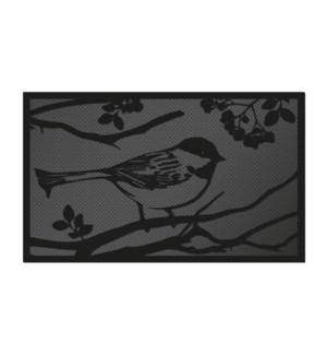 PVC doormat bird
