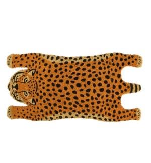 Coir doormat cheetah