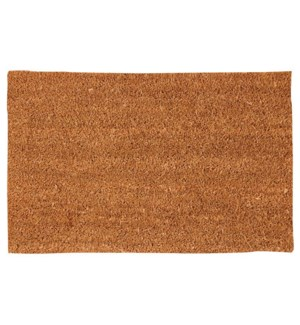 Coir doormat plain 60x40cm. Co
