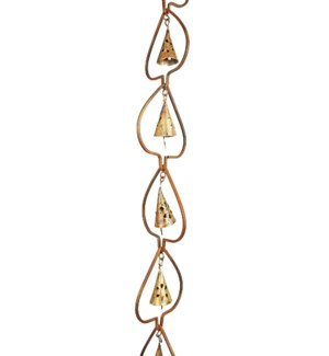 Flamed Aspen w/Bell Rain Chain