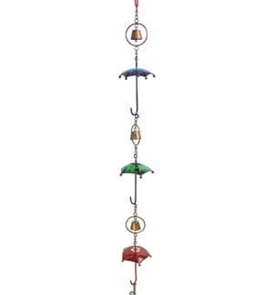 Multicolor Umbrella Rain Chain