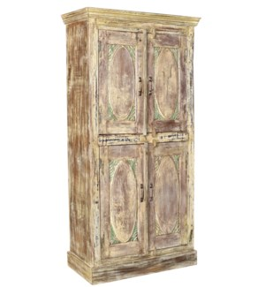 """""""Ant. Wood Cabinet, TallOS"""""""