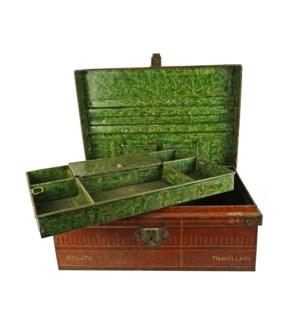 Antique Iron Jewellery Box