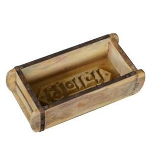 """""""Antique Wood Brick Mold, Natu"""""""