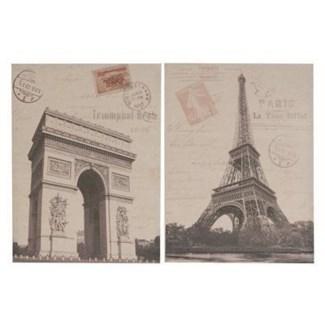 Paris Architecture Wall Decor 2 Asst. 20.5x1.5x27.6inch FD ON SALE 25 percent off original price 37.