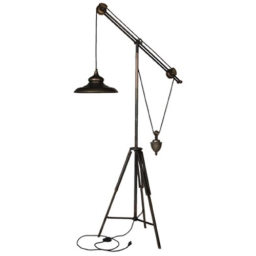 Giles Iron Weighted Floor Lamp