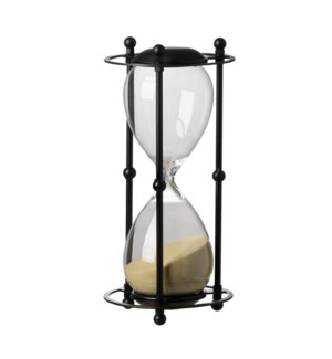 Hour Glass, 45% Glass,55% Iron, 6.2x6.2x13  On Sale 25 percent off original price