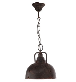 Hanging Lamp, Metal D10x11inch. 1EA/CTN, On Sale 50 percent off original price