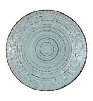 Rustic Flare Dinner Plate Turquoise