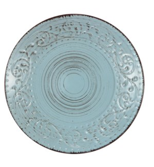 Rustic Flare Salad Plate Turquoise