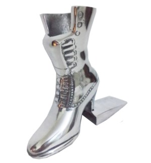 Boot DoorStopper Shiny Aluminium 7.5x1.75x6inch. 50percent off original price $16.50