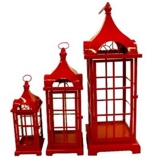 phone booth lantern set/2