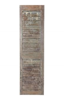 RS-41764 Vintage Shutter Panel,Teak wood, Dist. 15x2x55 inches