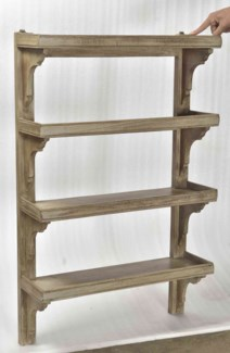 RS-41968 Vintage Rack, 24x8x38 inches