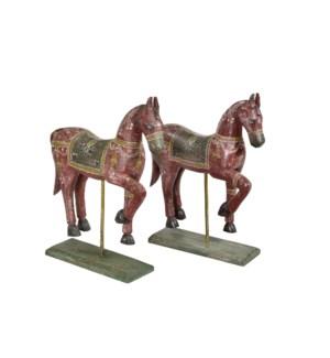 Vintage Replica Horse Statue OS