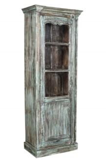 RM-33914 Vintage Cabinet,Teak wood, Dist. 27x15x72 inches
