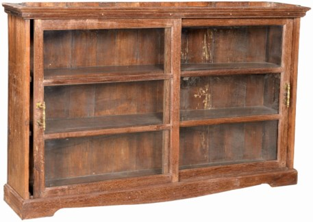 Vintage Bookcase , Natural, 58x10x34