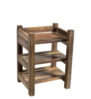 """RS-40531 - Vintage Wooden Rack,12x8.5x16 Inches On Sale 25% off"""