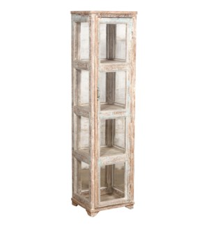 RM045756 WOODEN DISPLAY CABINET