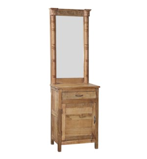 RS052020 WOODEN CABINET WITH MIRROR