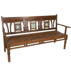 """""""RM-043607,  Art. wooden bench"""""""