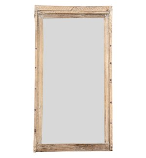 """RM-044814, Art. wooden frame with mirror"""