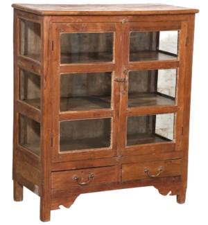 """""""RM-045559, Glass Door Cabinet 6 Panel"""""""