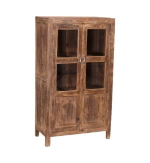 """""""RM-046979, 2 Door Cabinet Glass And Wood Panel"""""""