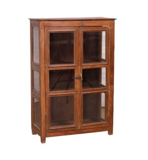 """""""RM-047581, Tall Cabinet 12 Glass Panel"""""""