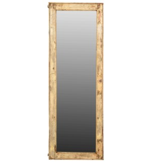 """""""RS-047514, White Washed Long Mirror"""""""