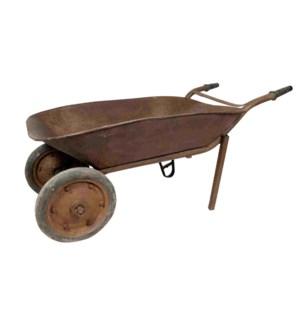 """RM-043366, Old Iron Wheelbarrow"""
