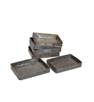 Antique Iron Tray